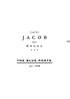 Head of Communications, The Palomar, The Barbary, Jacob the Angel & The Blue Posts
